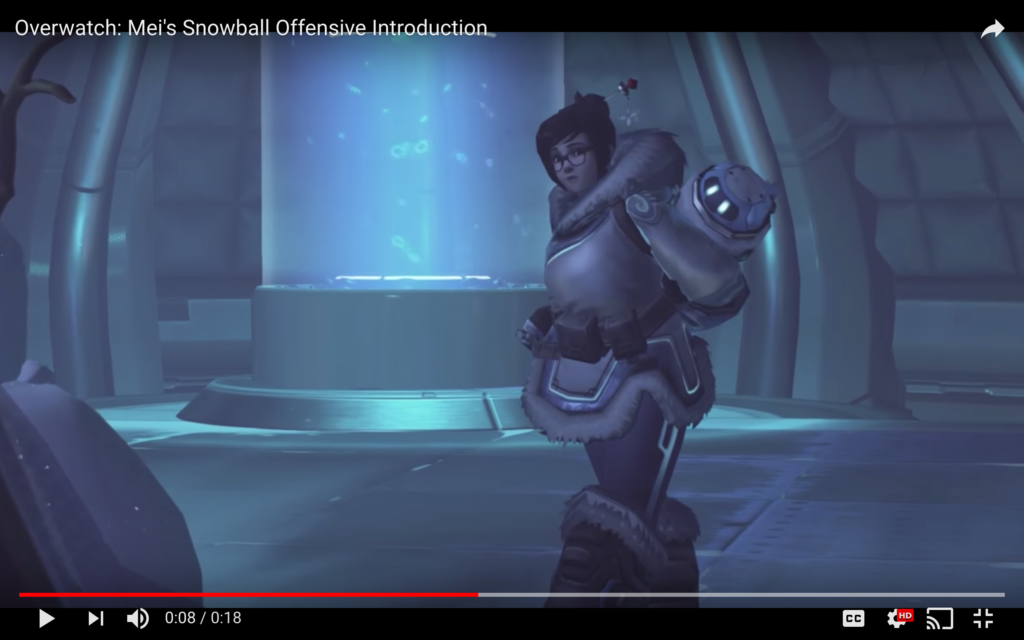 Mei's snowball offensive intro