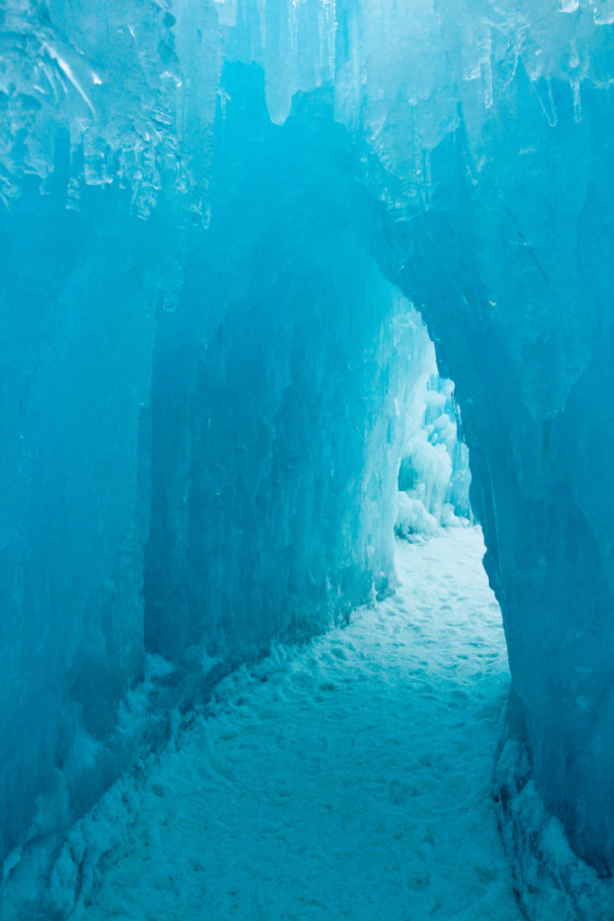 ice tunnel